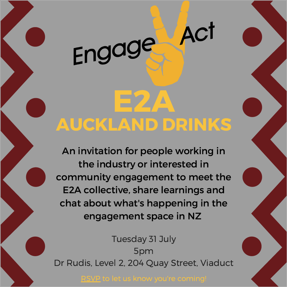 Join us for a drink and great conversations on Tuesday 31 July at 5pm.    Let us know you're coming at    bit.ly/2KgZ9e