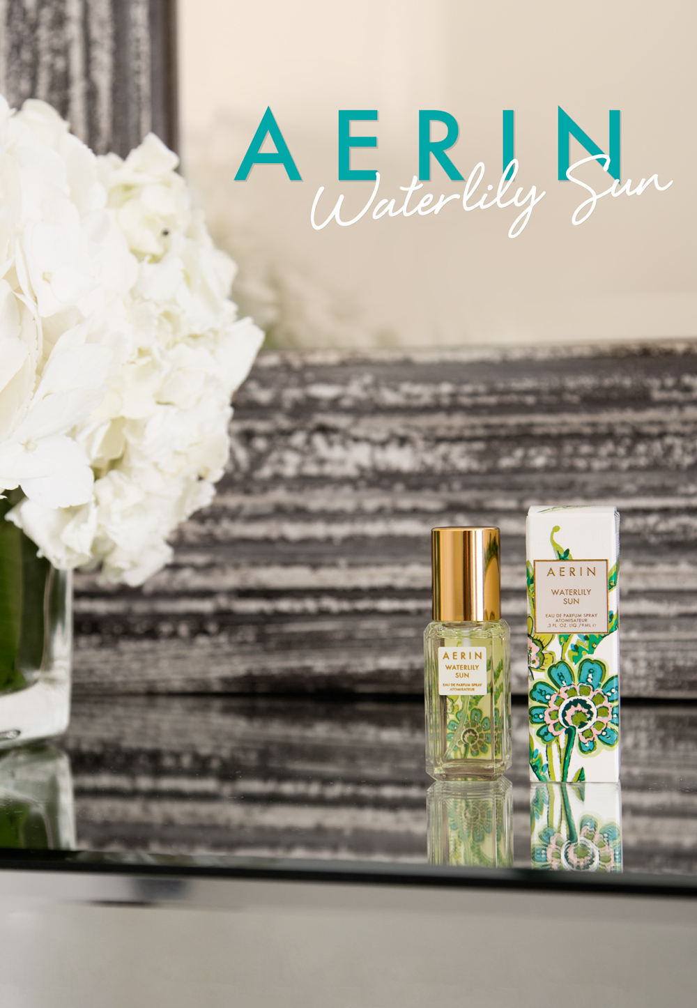 Aerin Lauder Waterlily Sun fragrance  mini was sent to over 50k subscribers.