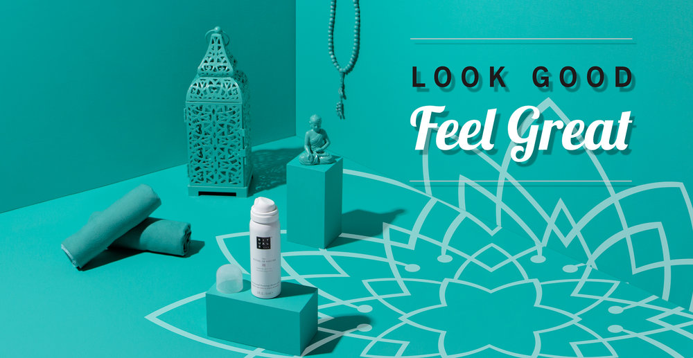 The   Look Good, Feel Great   campaign launched April 2018 and was about wellness from the inside-out. This box was curated with products from   Rituals   that were perfect for your post-workout routine and aimed to help consumers find inner peace. It also included a   CYBEROBICS   Nutrition Guide and access to workouts with celebrity trainer   David Kirsch  .