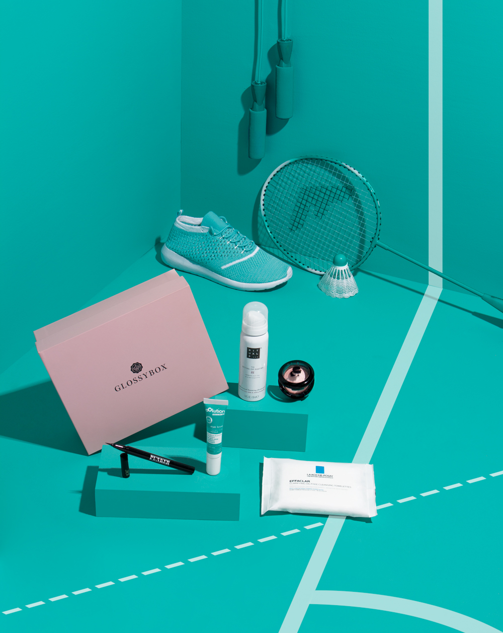 The box was curated with brands including  Rituals, Karl Lagerfeld + Model Co ,  La Roche-Posay  and  Ardency inn .