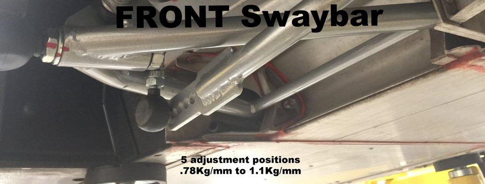 Front swaybar