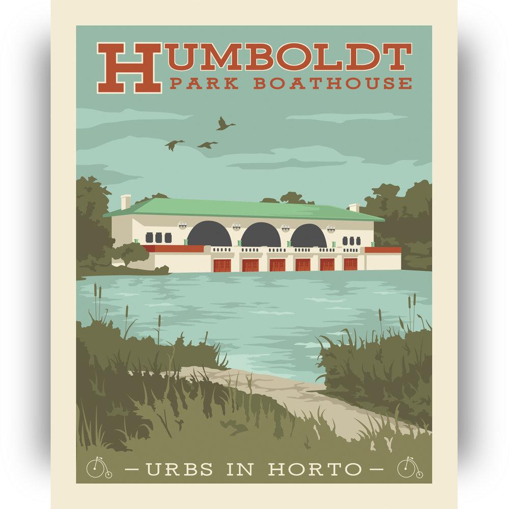 "Humboldt Park Print 1 - ""Urbs In Horto"" Series"