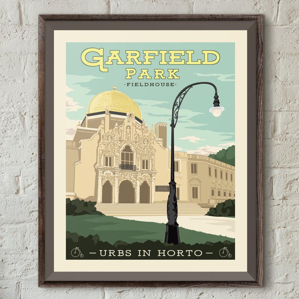 "Garfield Park Print - ""Urbs In Horto"" Series"