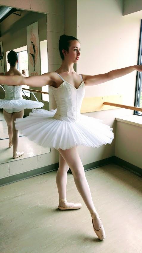 BALLET PRACTICE TUTU AND BODICE, 2016  MODEL: Sarah Nathan