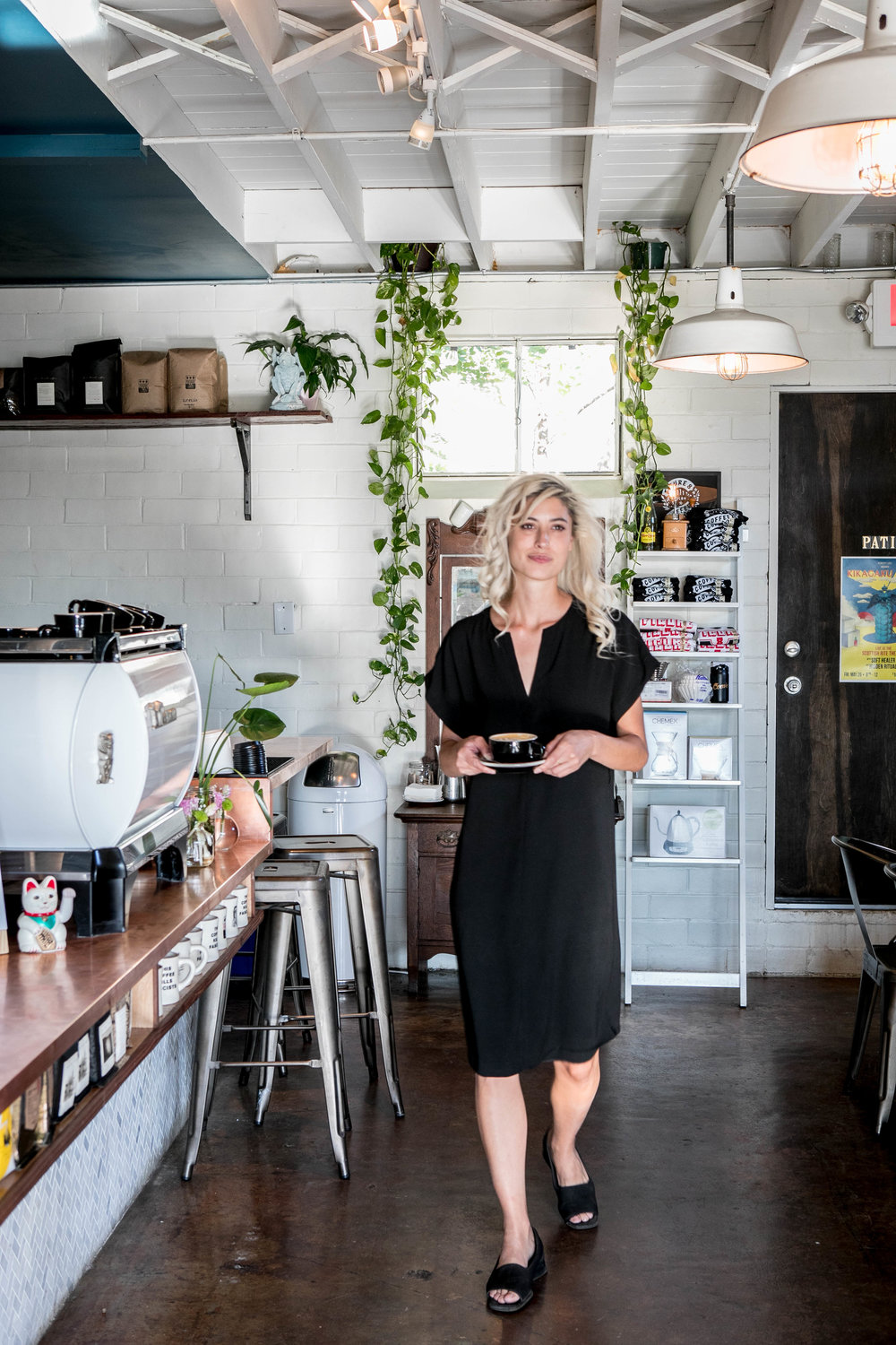 Sarah Natsumi Moore | Figure 8 Coffee Purveyors | Austin Texas | East Austin | Editorial and Commercial Photography