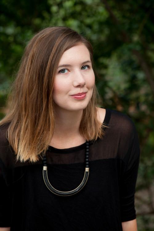 Clara Bensen, Writer. Headshot for her book No Baggage.