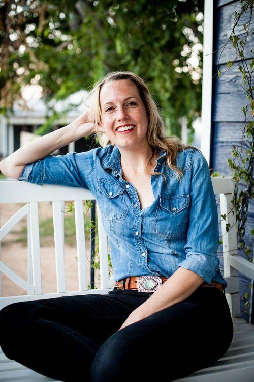 Becca Baughman, filmmaker. Portrait for her website.