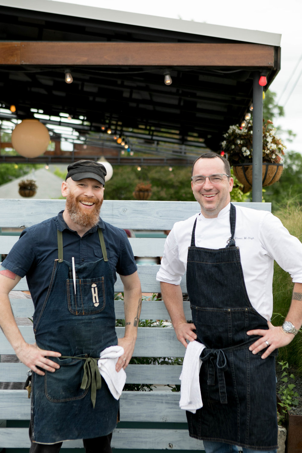 Chefs for The Hightower, portraits for Hot Luck Food Festival.