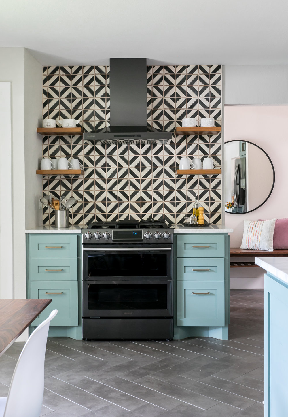 Midcentury Home Kitchen Remodel