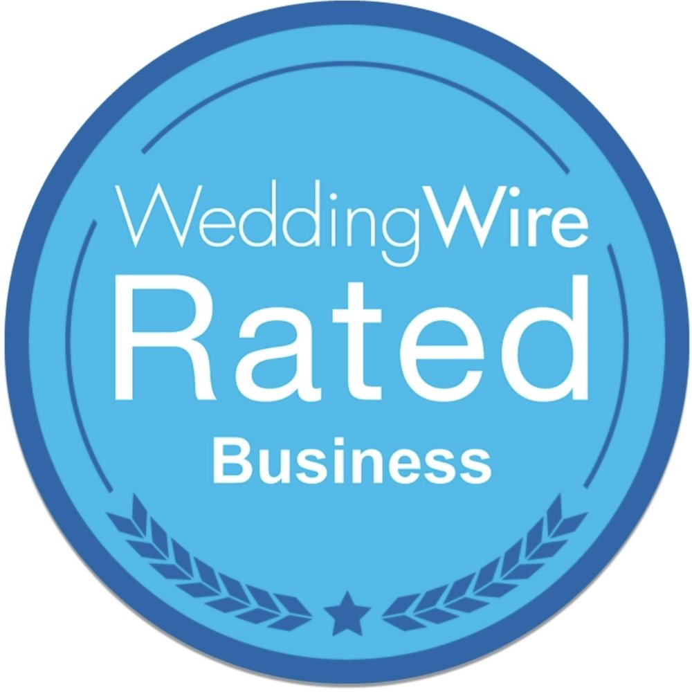 listed & Reviewed on weddingwire