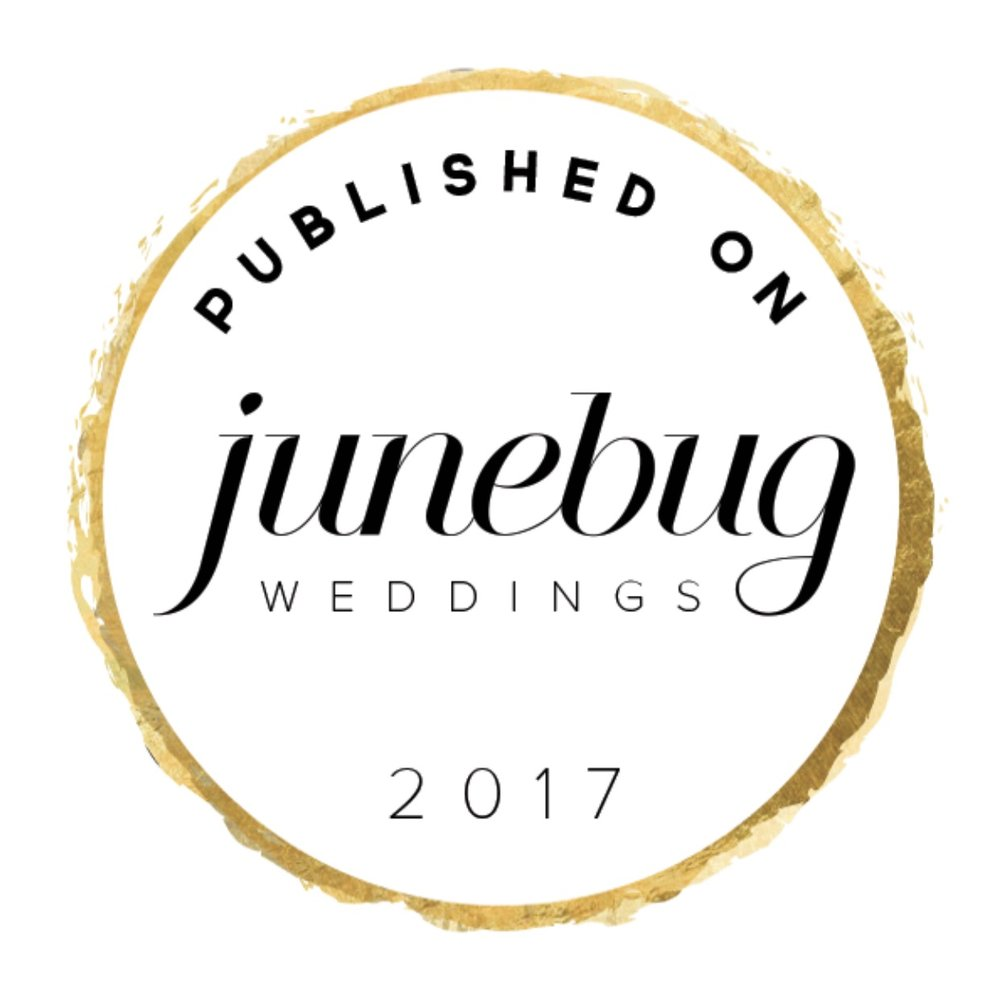 junebug weddings blog featured 8/2/2017 from wedding seen on the cover and spread of 614 magazine feb. 2017 issue