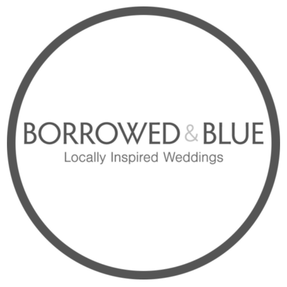 Borrowed & blue weddng blog featured multiple times