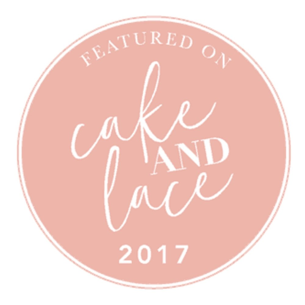 cake and lace blog featured 6/2/2017 & 5/2/2017