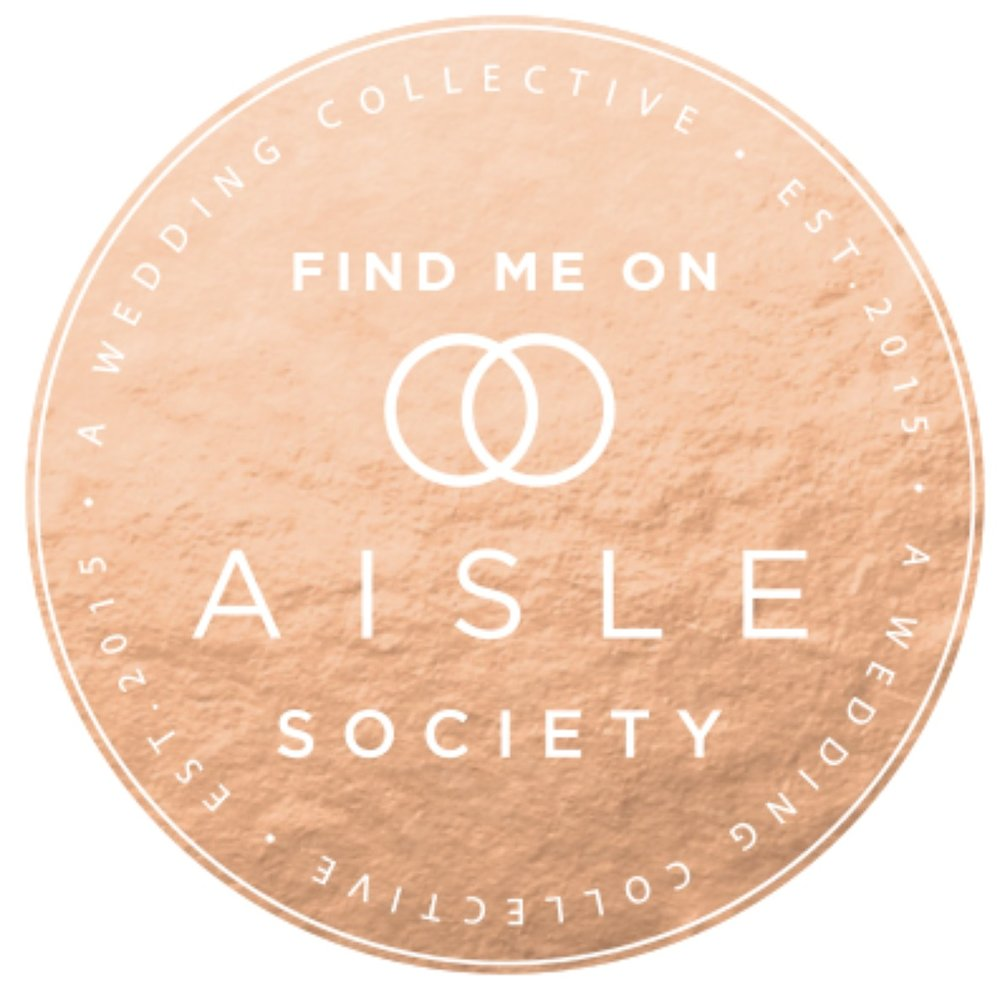 featured on aisle society blog september 2018
