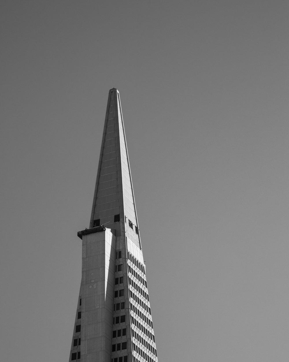 Transamerica Pyramid - San Francisco, CA -  Canon 5D Mark III - 24-105 f/4L - 1/500 - f/13 - ISO 320