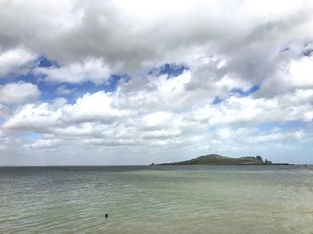 Ireland's Eye, Howth . . . . . . #howth #ireland #irelandseye #backpacking