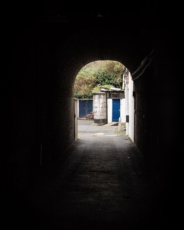 Tunnel scenes...Dublin, Ireland . . . . . . #dublin #smallspaces #ireland #éire #dublinireland #theunnoticed #gameoftones #darknessintolight #europe #eurotrippin #offthebeatenpath #adventure #sonya6500 #canon #ramblin #getoutside