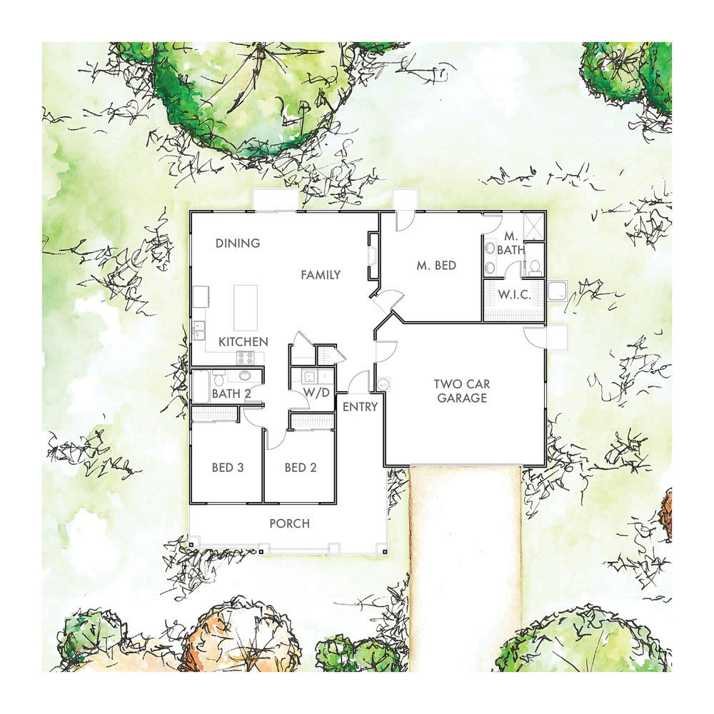 Lot 2 Floor Plan