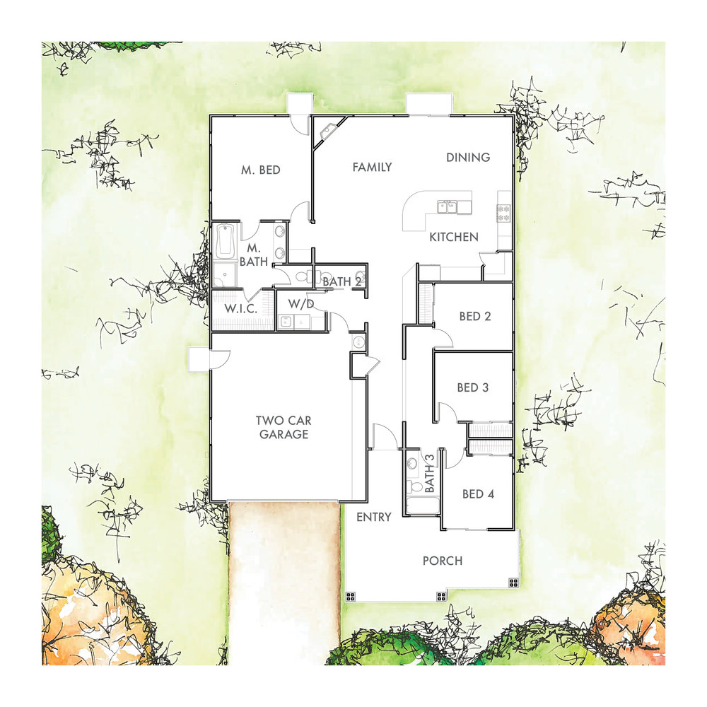 Lot 3 Floor Plan