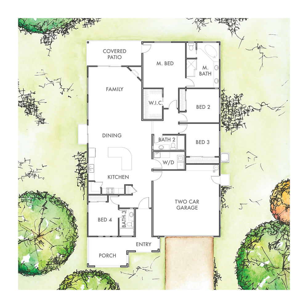 Lot 4 Floor Plan