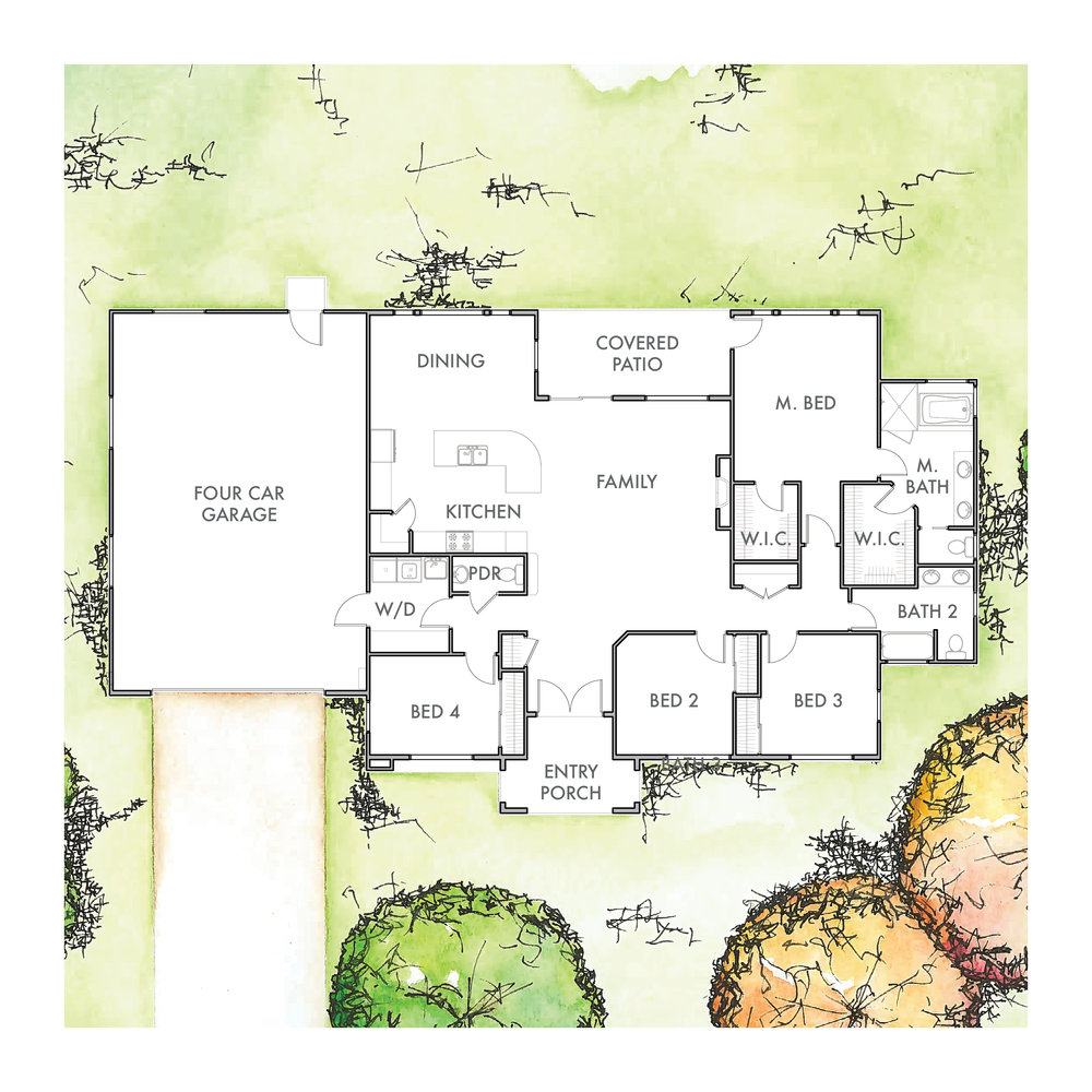 Lot 6 Floor Plan