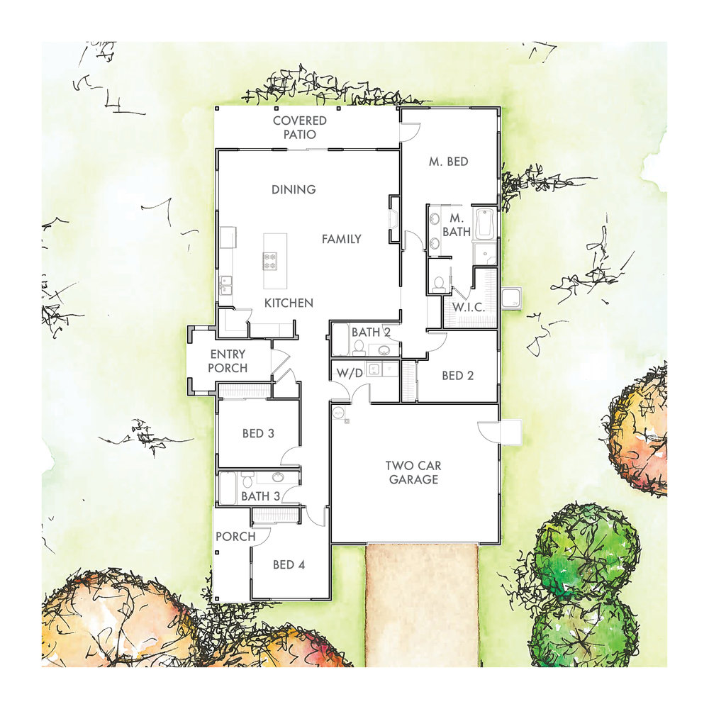 Lot 7 Floor Plan
