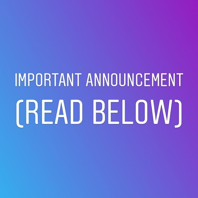 If you wish to place an order, we will temporarily be doing so through messages on IG, FB, or e-mail. We will provide updates as soon as things are up and properly running on our website again. Thanks!