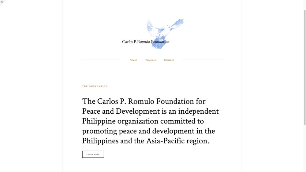 Carlos P. Romulo Foundation