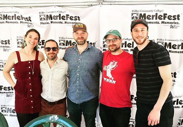 @merlefest wow! This is a festival unlike any other, what an honor it was to be a part of it all! Thank you for having us ❣️🌱🎻🎸 📷: Herman Schlimmer