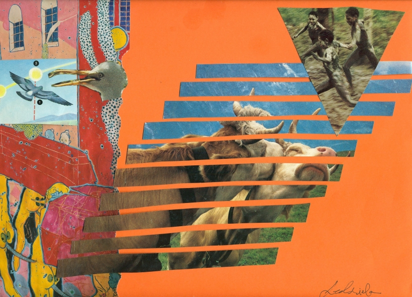 MOOvement , Jedriela collaboration, collage 2012