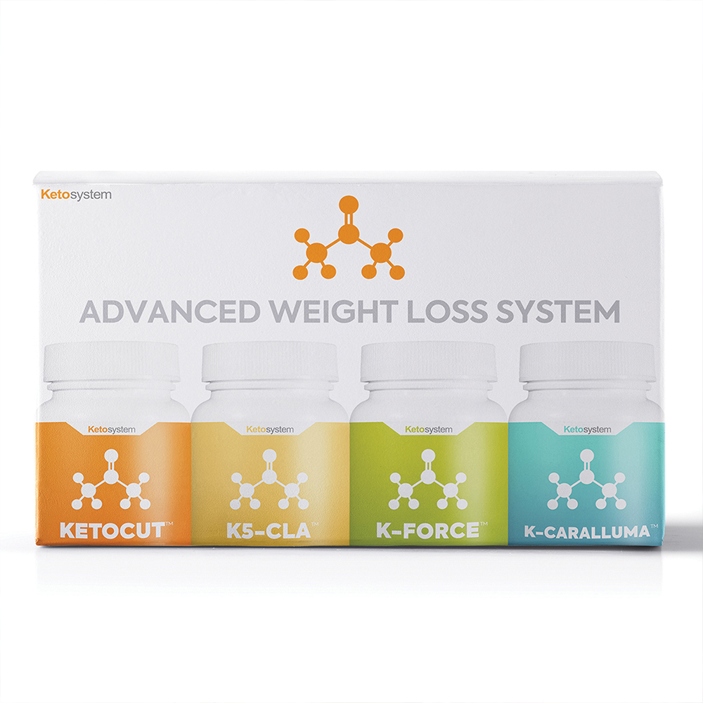 KetoSystem - Keto dietary advanced weight loss supplement bundle.