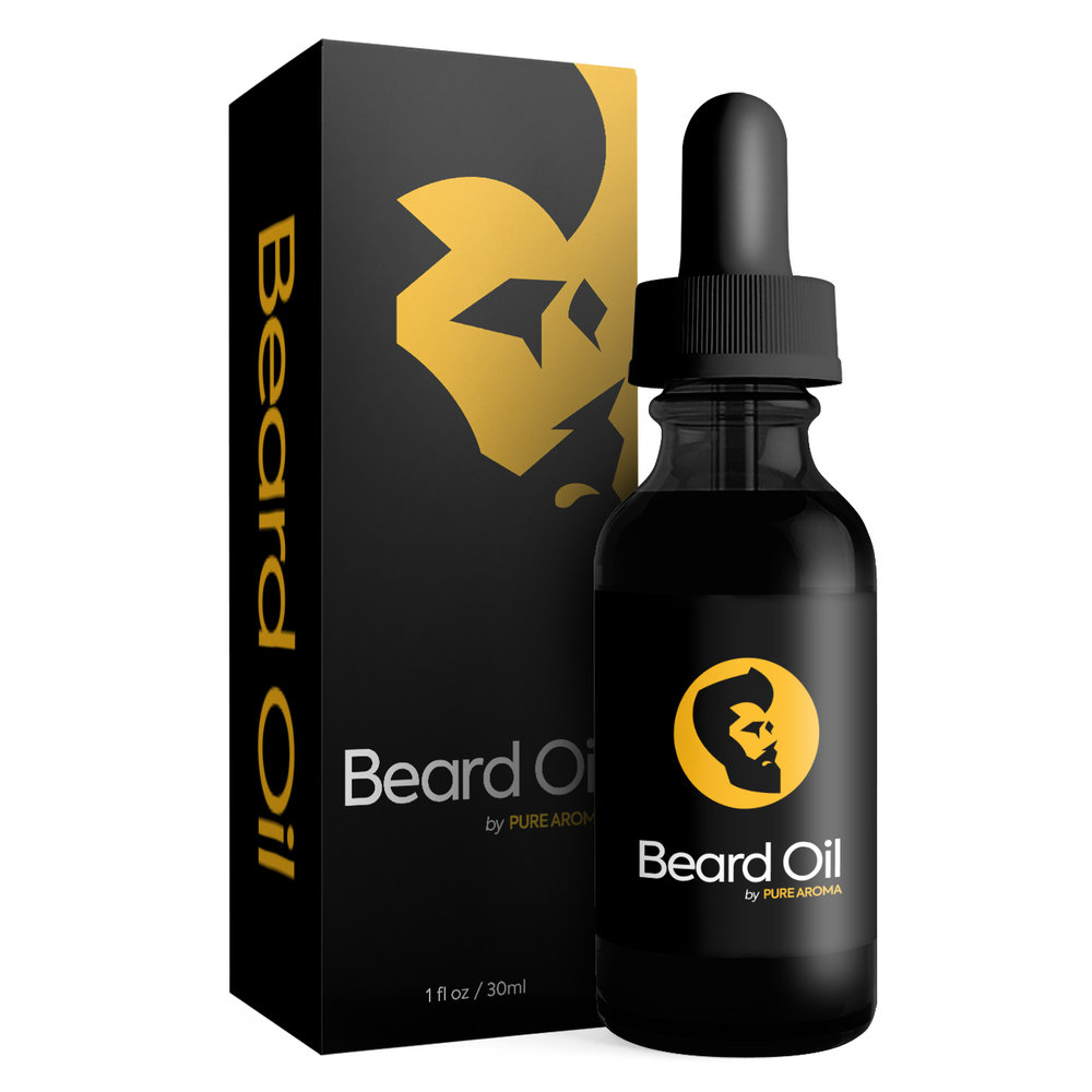 Beard Oil - A product by Pure Aroma.