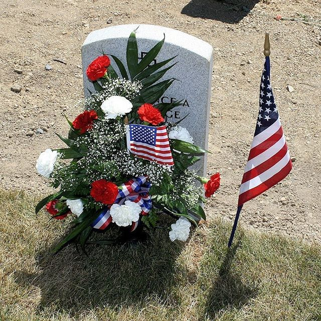 """On this day, take time to remember those who have fallen. But on every day after, do more; put the freedoms they died for to greater and nobler uses."" Richelle E. Goodrich  #memorialday #memorial #usarmedforces #USA #remember #honor #America #americanflag"