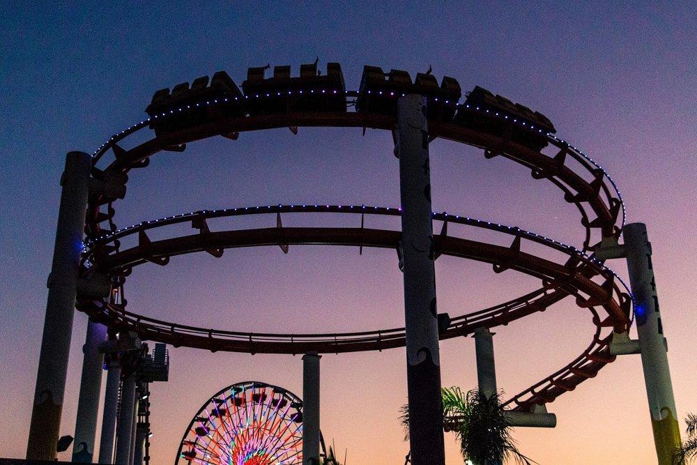 End of the Santa Monica Pier (photo by Steven Seighman)