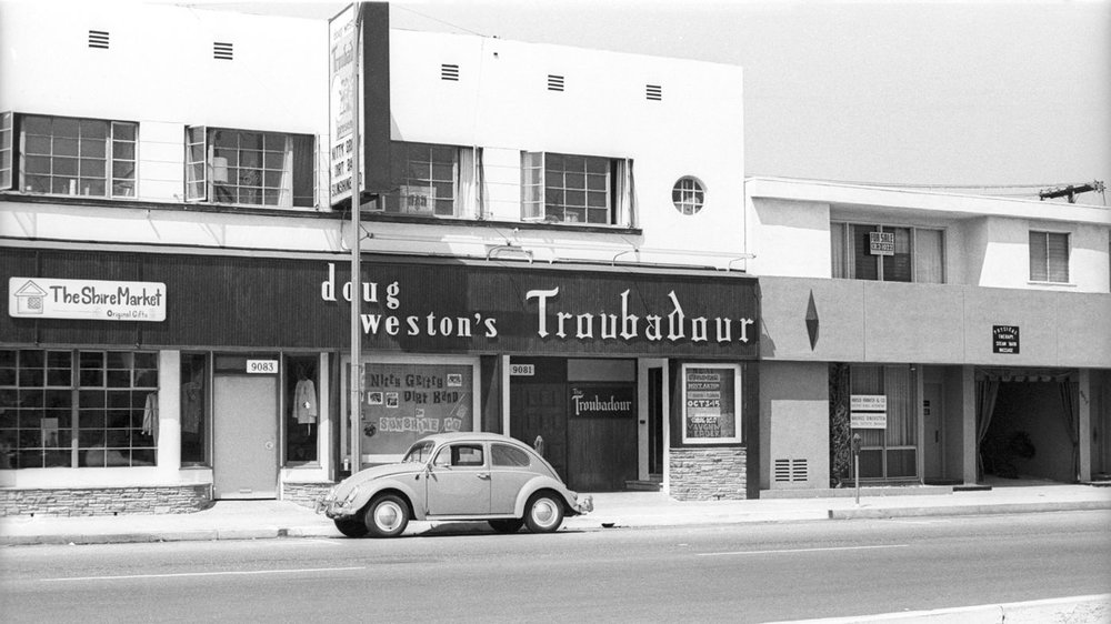 The Troubadour in the 1960s