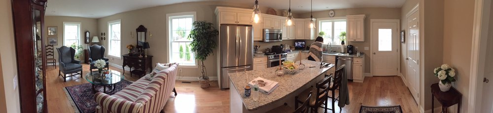Panorama of my mom's new house