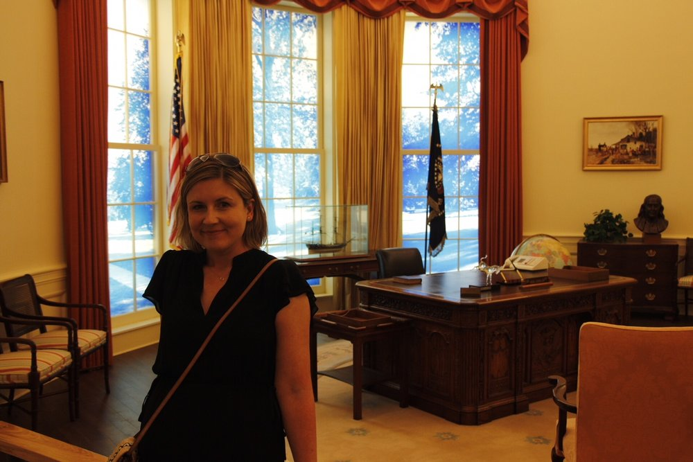 In the Oval Office (circa 1978) (photo by  Steven Seighman )
