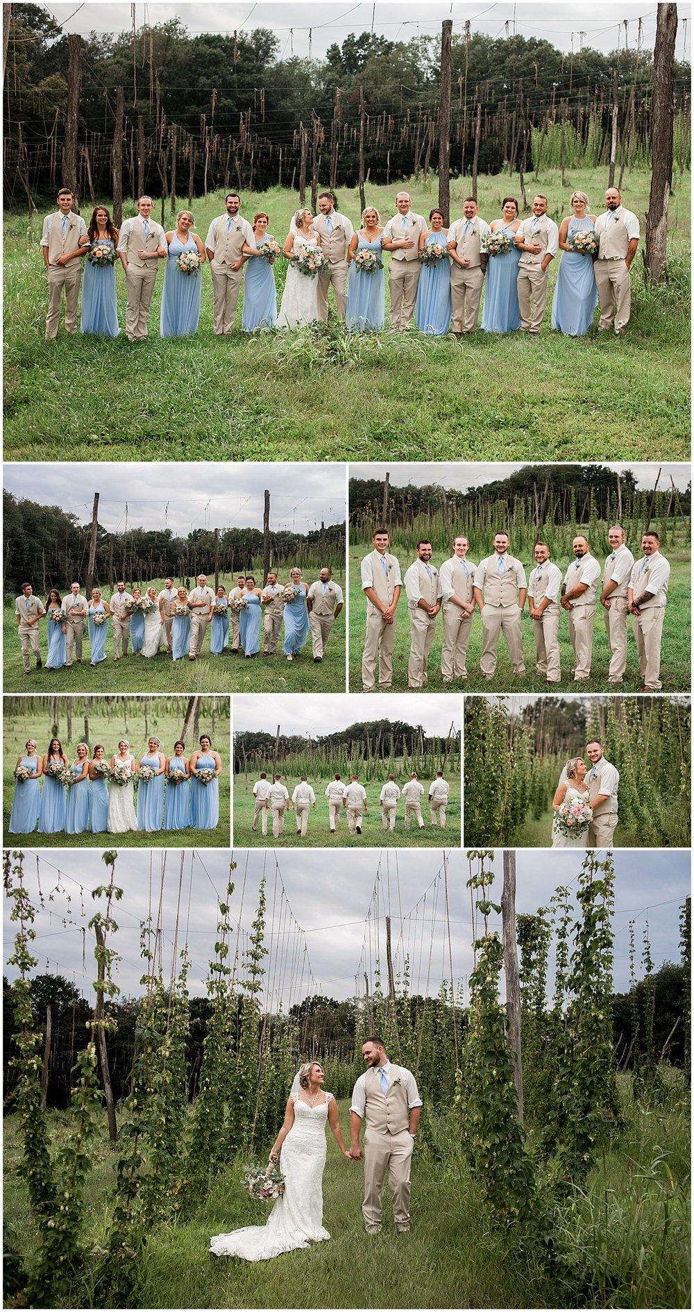 pittsburgh wedding photographer rustic natural wedding