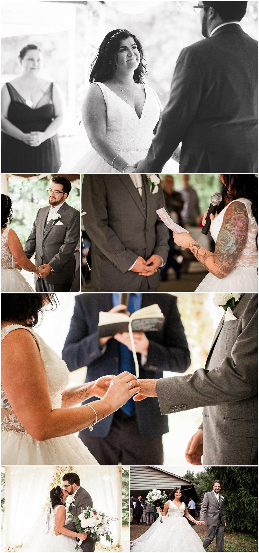 pittsburgh pa wedding ceremony photographer