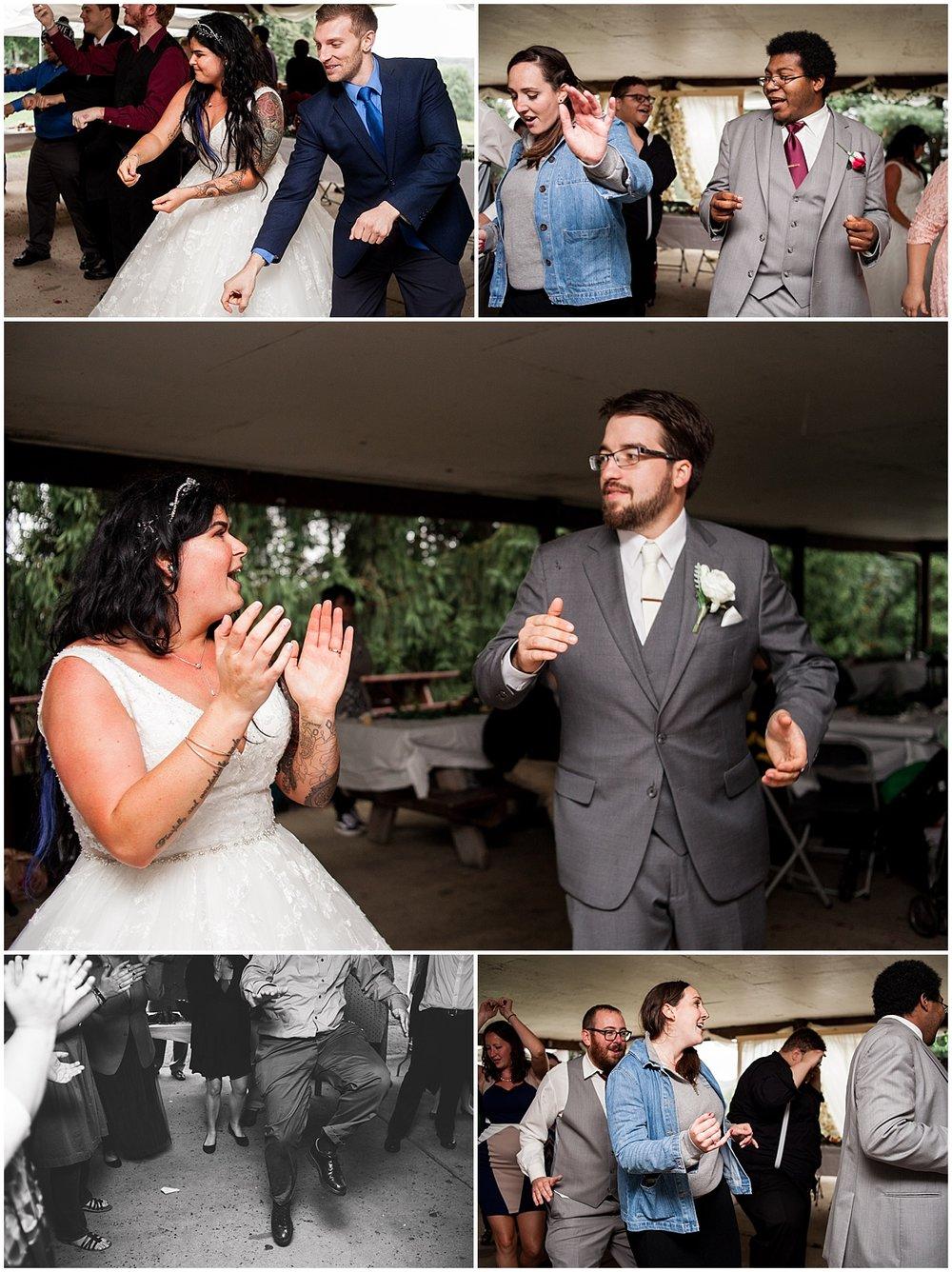 pittsburgh wedding reception dance photographer