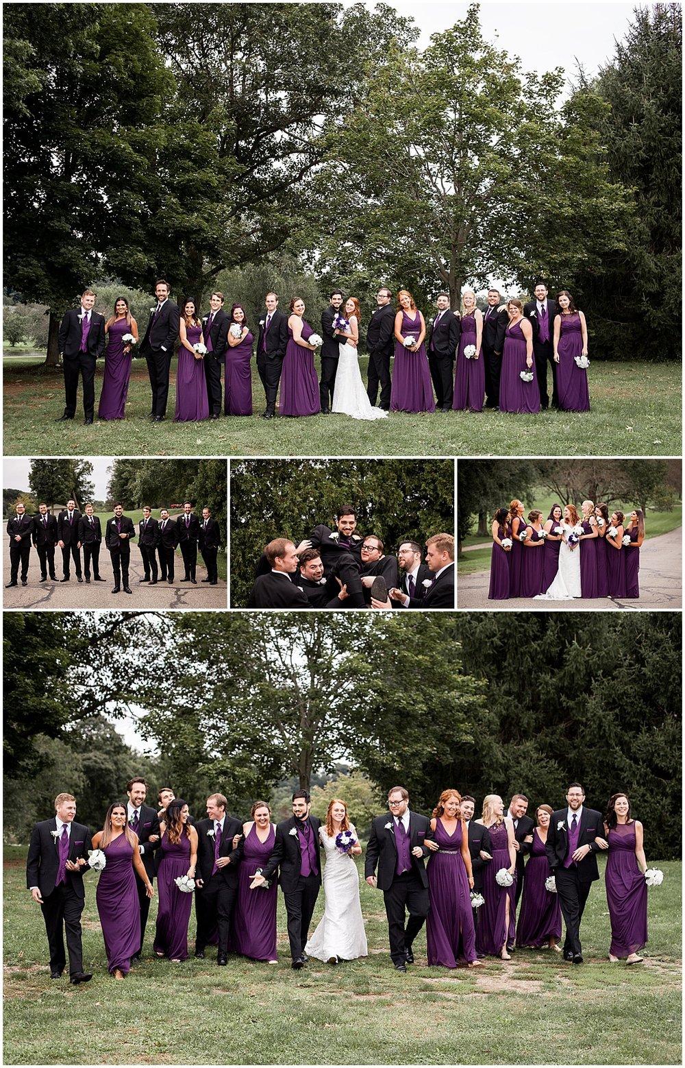 wedding party club at shadow lakes beaver pa