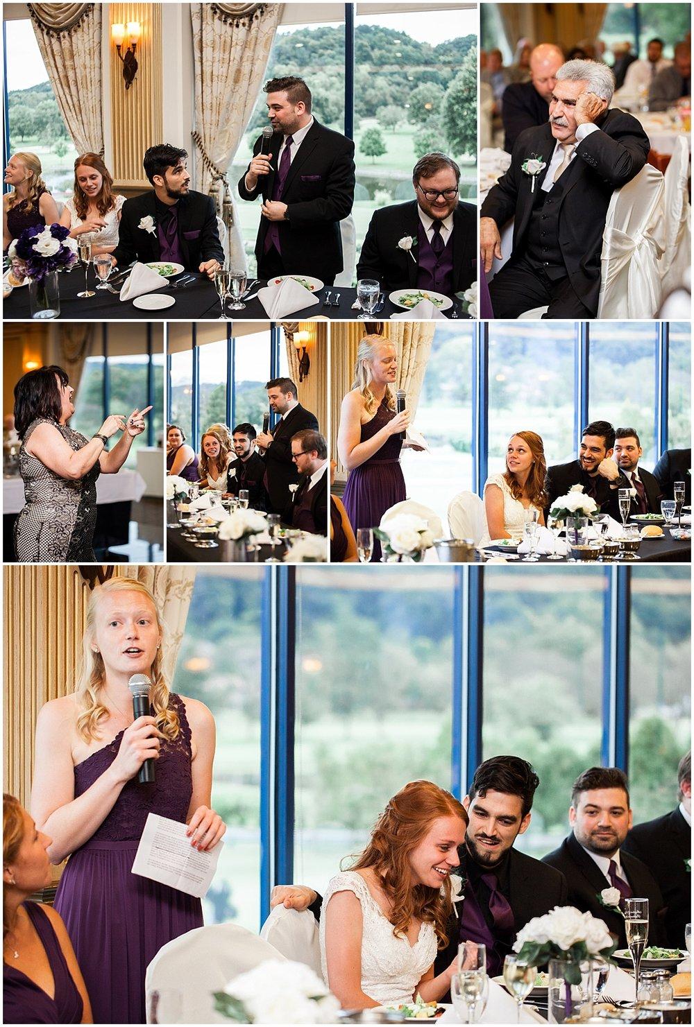 wedding toasts the club at shadow lakes beaver pa