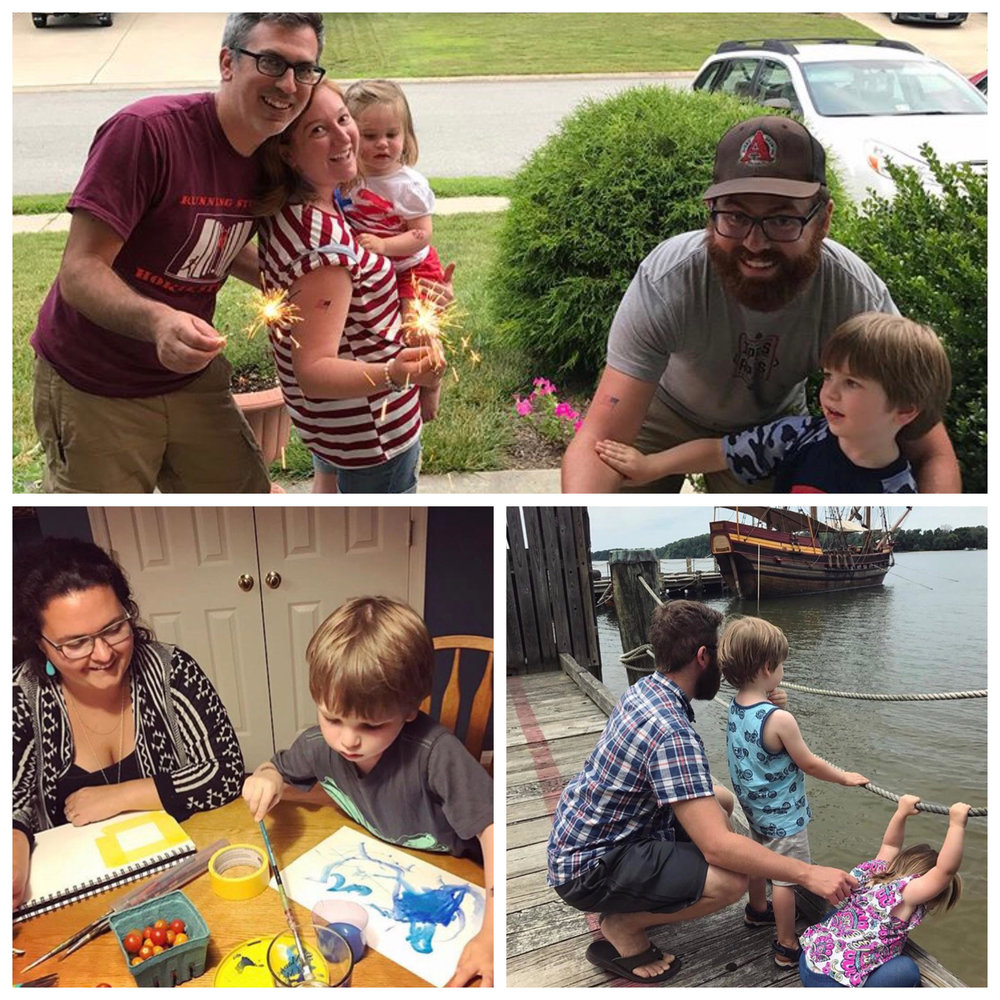 Enjoying some quality family time with our Maryland crew. Photos by Kate Scrittore.