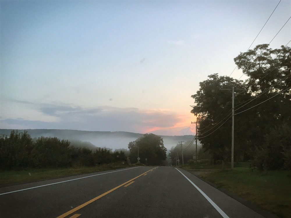 A view from one of our evening drives in MA