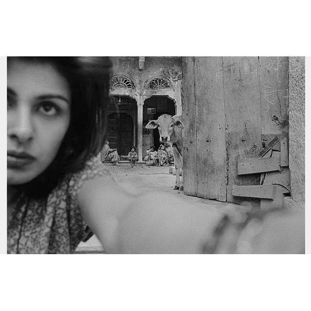 Self-portrait by Pamela Singh