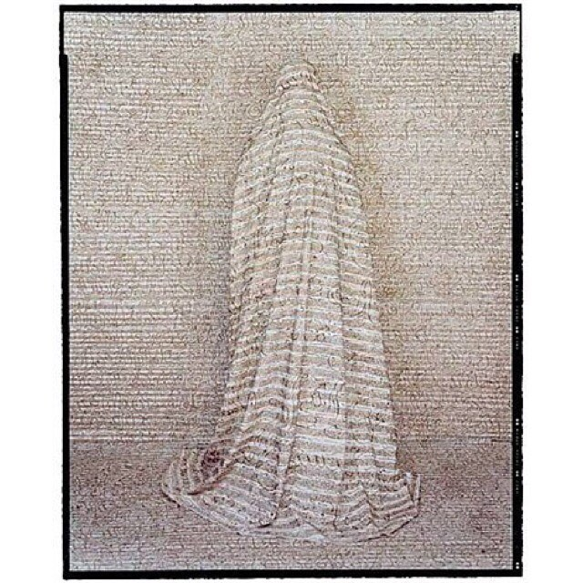Les Femmes du Maroc #23, 2005 by Lalla Essaydi