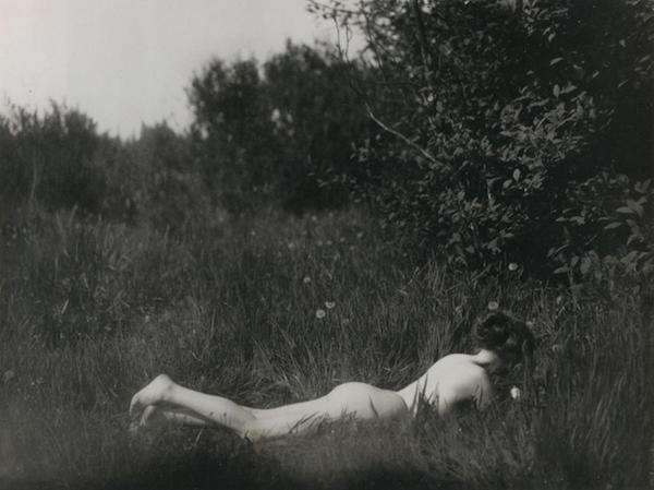 Imogen Cunningham  Self-portrait , 1906