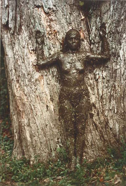 Ana Mendieta,  Tree of Life , 1976