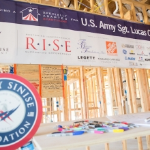 """At the Gary Sinise Foundation, we serve our nation by honoring our defenders, veterans, first responders, their families, and those in need.  We do this by creating and supporting unique programs designed to entertain, educate, inspire, strengthen, and build communities."""
