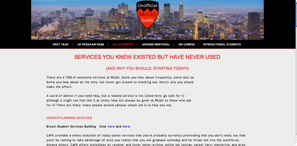 screenshot, informational page